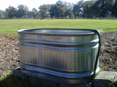 Shiny New Water Tank
