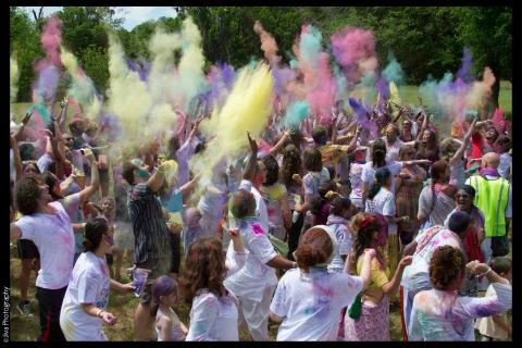 Festival of Colors---photo by Jiva