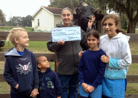 Bhaktivedanta Academy students raise $374 for Save the Cow